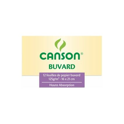 CANSON Löschpapier, 160 x 210 mm, 125 g/qm, weiß