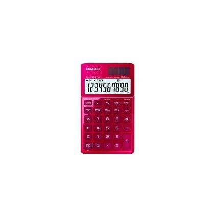 CASIO Taschenrechner SL-1000 TW RD, Solar-/ Batteriebetrieb