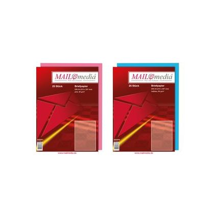 MAILmedia Multifunktionspapier, DIN A4, 80 g/qm, pink