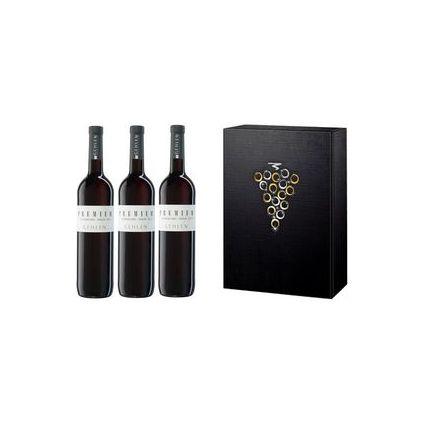 Gehlen-Cornelius 3er Weinpräsent - Spätburgunder-Merlot