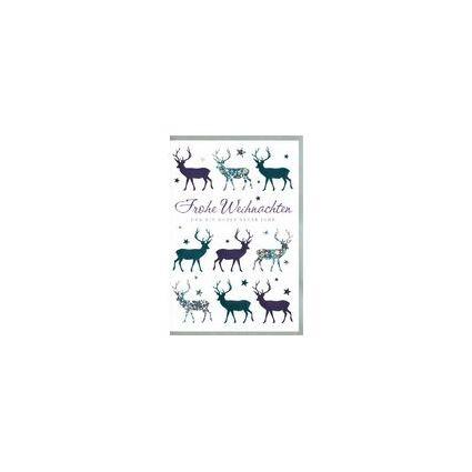 HORN Weihnachtskarte - Glänzende Schriftgestaltung -