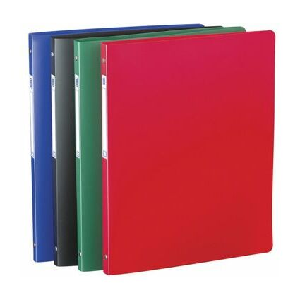 ELBA Ringbuch Standard, 4 Ring-Reißmechanik, farbig sortiert