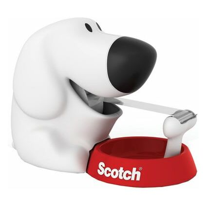 "3M Scotch Tischabroller ""Dog"", in Hundeform, bestückt"