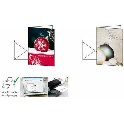 "sigel Weihnachtskarte ""Felicity"", A6 (A5)"