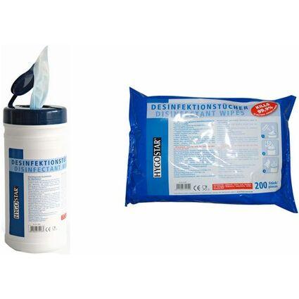 franz mensch Desinfektionstücher, 130 x 70 mm, 70er Spender