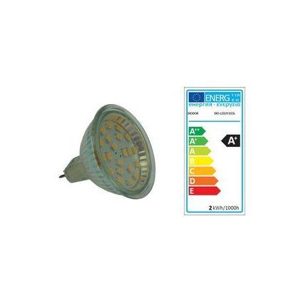 DIODOR LED-Lampe MR16-Strahler, 1,5 Watt, Sockel: GU5.3