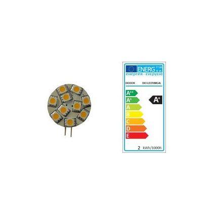 DIODOR LED-Lampe 10er Stiftsockel, 1,7 Watt, Sockel: G4