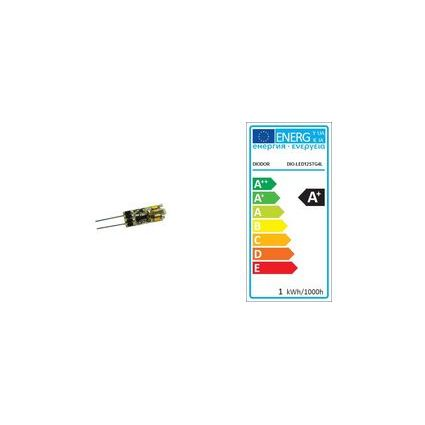 DIODOR LED-Lampe 12er Stiftsockel, 0,6 Watt, Sockel: G4