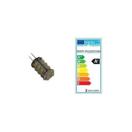 DIODOR LED-Lampe 15er Stiftsockel, 1,3 Watt, Sockel: G4