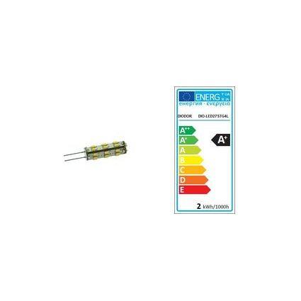 DIODOR LED-Lampe 27er Stiftsockel, 1,3 Watt, Sockel: G4