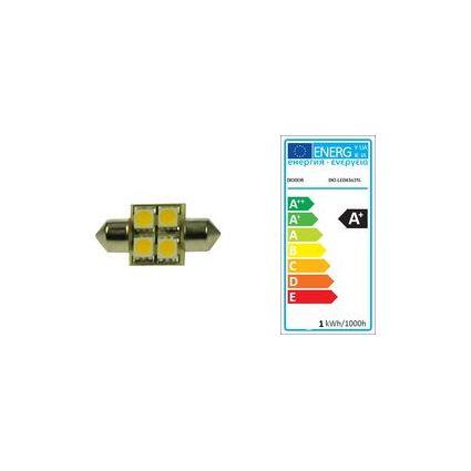 DIODOR LED-Lampe SMD Soffitte, 0,7 Watt, Länge: 31 mm