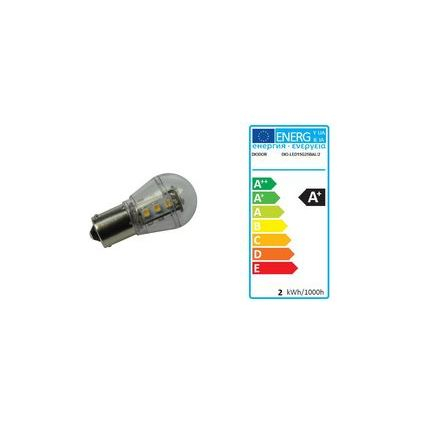 DIODOR LED-Lampe 15er Stiftsockel, 1,6 Watt, Sockel: BA15s