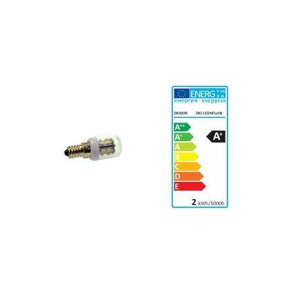 DIODOR LED-Lampe 18er SMD Kerze, 1,2 Watt, Sockel: E14
