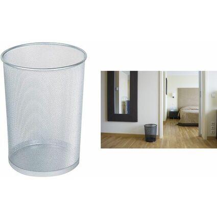Rubbermaid Papierkorb Concept Collection, 19 Liter, schwarz