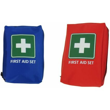 "Leina Mobiles Erste-Hilfe-Set ""First Aid"", 21-teilig, rot"