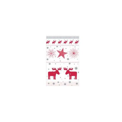 """SUSY CARD Weihnachtskarte """"Weihnachtmann mit Geschenksack"""""""