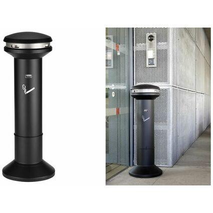Rubbermaid Standascher Infinity Hohe Kapazität, rund,schwarz