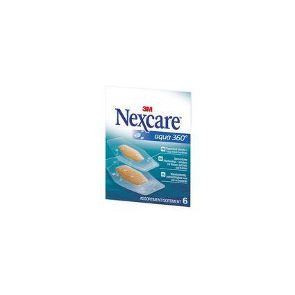 3M Nexcare Pflaster Aqua 360 Grad, 6 Streifen