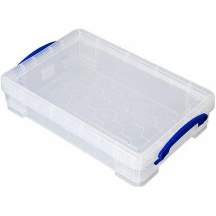 Really Useful Box Aufbewahrungsbox, 2,5 Liter, transparent