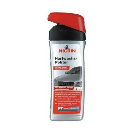 NIGRIN Hartwachs-Politur, für leicht matte Lacke, 500 ml