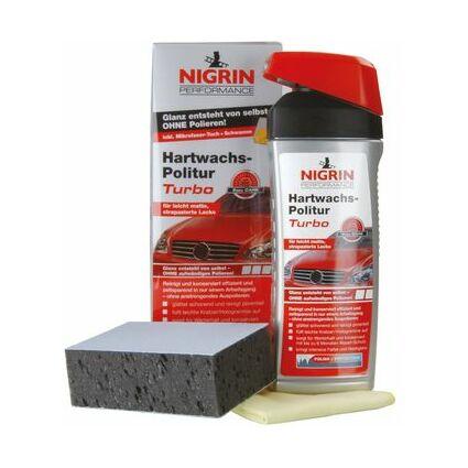 NIGRIN Performance Hartwachs-Politur Turbo, 500 ml