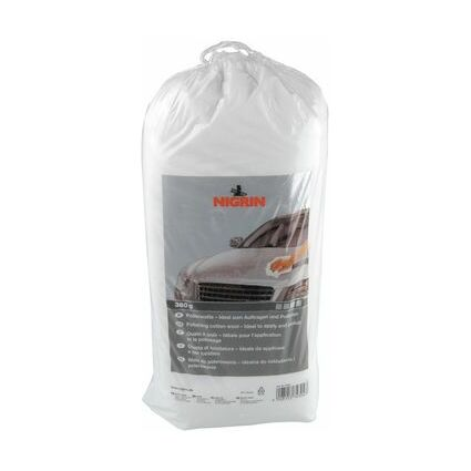NIGRIN Polierwatte, zum Auftragen und Polieren, 380 g