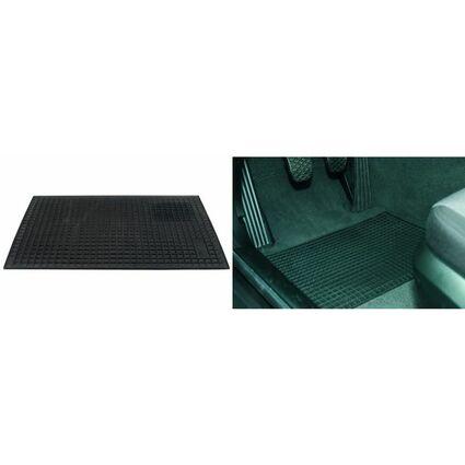 uniTEC KFZ-Wabenmatte aus Gummi, 420 x 290 mm