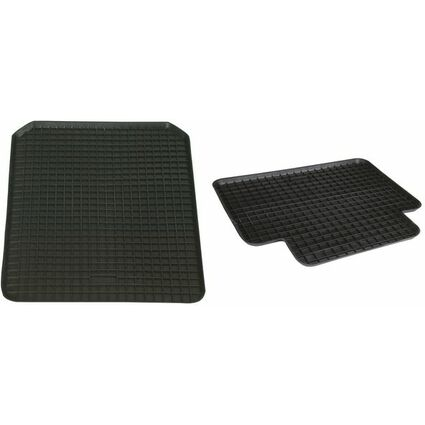 uniTEC KFZ-Schalenmatte hinten, 460 x 400 mm