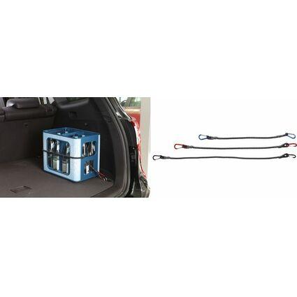 uniTEC Gepäckspanner mit Karabiner, Länge: 1.000 mm