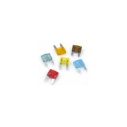 uniTEC Mini Flachstecksicherungen, sortiert, Inhalt: 6 Stück