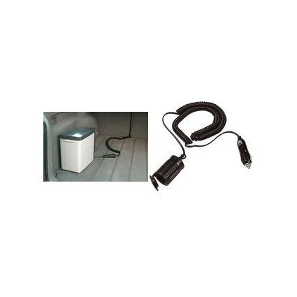 uniTEC KFZ-Spiral-Verlängerungskabel, 5,0 m, schwarz