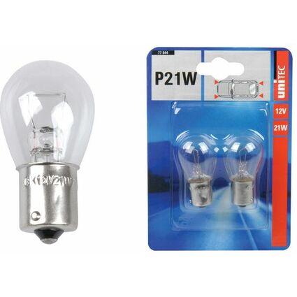 uniTEC KFZ-Kugellampe, 12 Volt, 21 Watt, Inhalt: 2 Stück