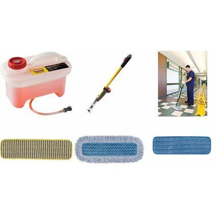 Rubbermaid Bodenreinigungssystem Pulse, mit Mopphalter