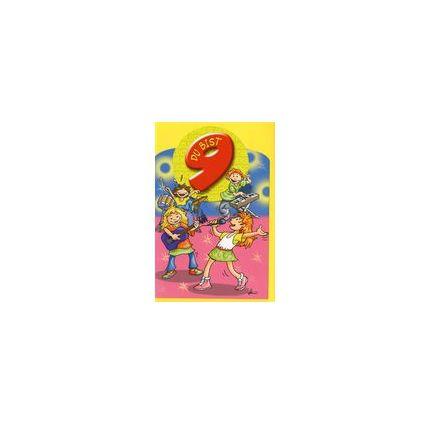 HORN Kinder-Geburtstagskarte - Popstars-Band - 9. Geburtstag