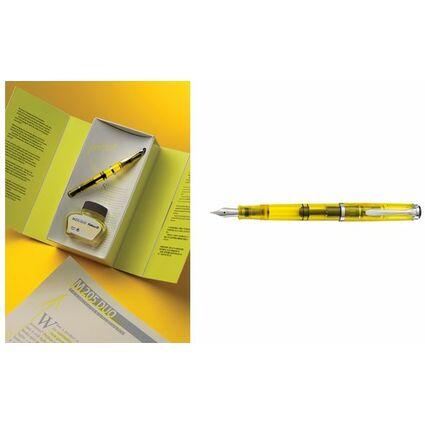 Pelikan Füllhalter M 205 DUO, Federbreite: BB, gelb
