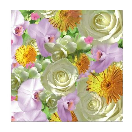 "PAPSTAR Motivservietten ""Pink Tulips"", 330 x 330 mm"