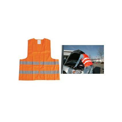 uniTEC Pannenweste/Warnweste, DIN EN 471, Polyester, orange