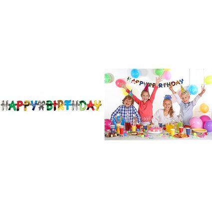 """PAPSTAR Girlanden-Kette """"Happy Birthday"""""""