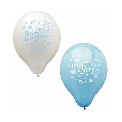 """PAPSTAR Luftballons """"It's a Boy"""", blau/weiß sortiert"""