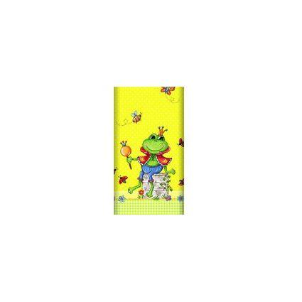 "PAPSTAR Motiv-Tischdecke ""Prince Frog"", lackiert"
