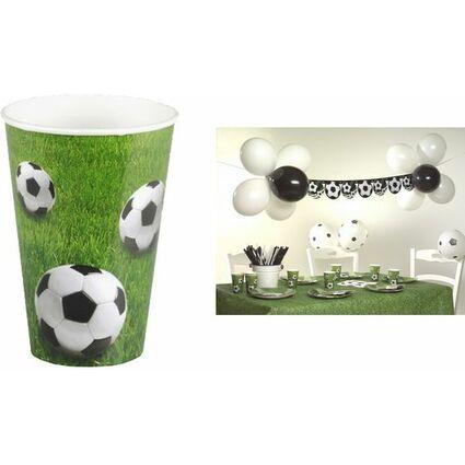 """PAPSTAR Papp-Trinkbecher """"Football"""", 0,2 l"""