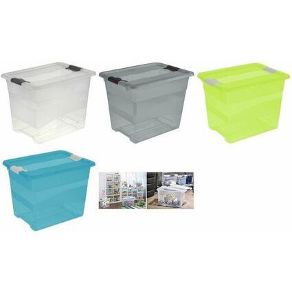 """keeeper Aufbewahrungsbox """"cornelia"""", 24 Liter, fresh-blue"""