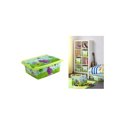 "keeeper kids Aufbewahrungsbox Deco-Box ""filip hippo"", 20,5 L"