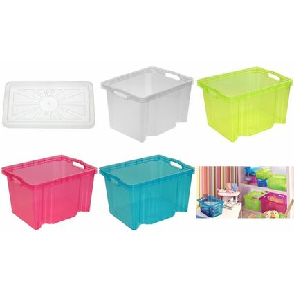"keeeper Deckel ""franziska"" für Multi-Box M, transparent"