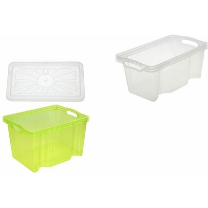 "keeeper Deckel ""franziska"" für Multi-Box S, transparent"