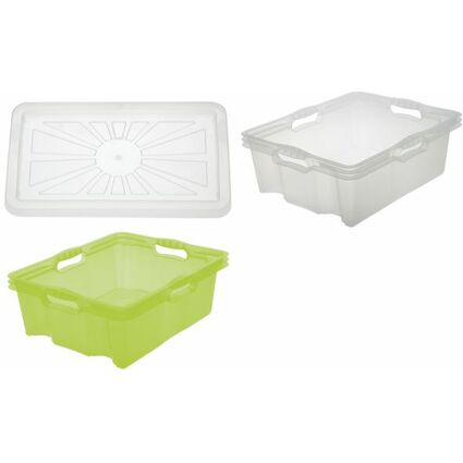 "keeeper Deckel ""franziska"" für Multi-Box L + XL, transparent"