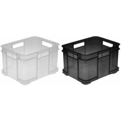 "ok Aufbewahrungsbox ""Euro-Box M"", 16 Liter, grün"