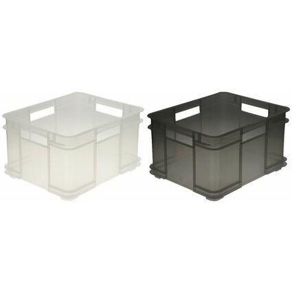 "ok Aufbewahrungsbox ""Euro-Box XL"", 28 Liter, grün"