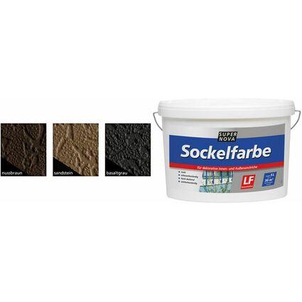 SUPER NOVA Sockelfarbe, nußbraun, 5 Liter