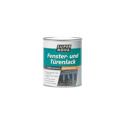 SUPER NOVA Fenster- und Türenlack, weiß, 750 ml
